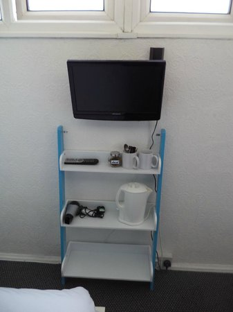 The B&B Blackpool: Room Five Hospitality Centre + TV/DVD Player