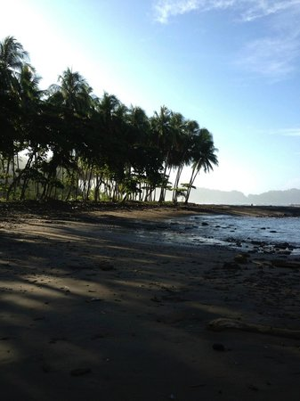 Costa Paraiso: View from Private Rock Beach II
