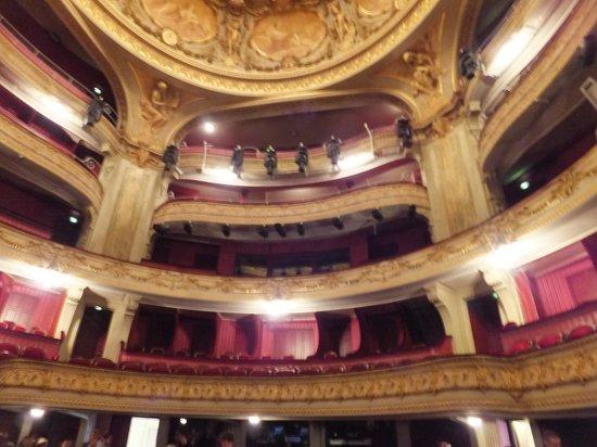 Opéra de Lille : l'intérieur