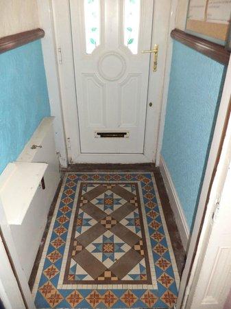 The B&B Blackpool: Victorian Tiled Entrance Hallway