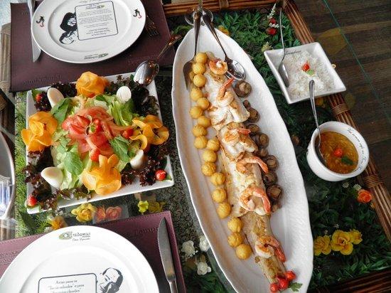 Ostradamus Bar e Restaurante: Almoço