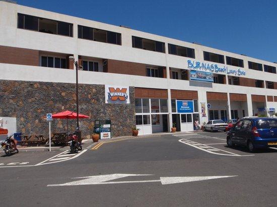 Pereybere Hotel & Spa: Winner's supermarket