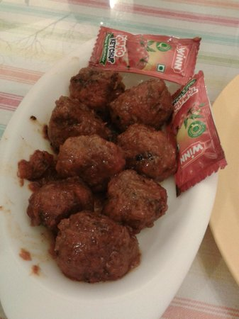 Tina's Cafe: Full Gobi Balls