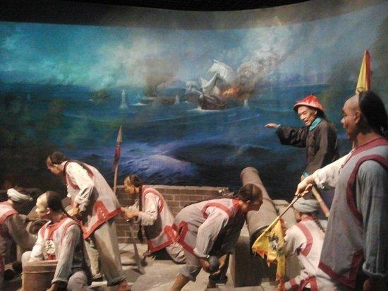Shenzhen Museum : Battle scene