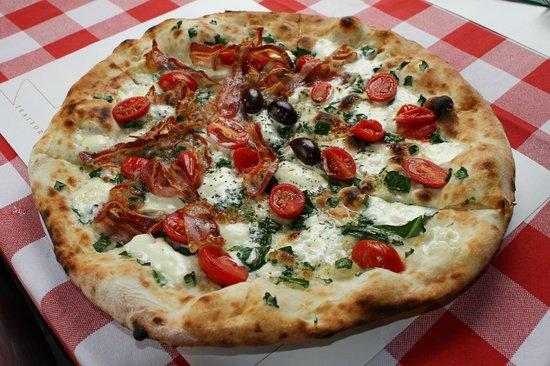 Amici Pizzeria: Pizza caprino