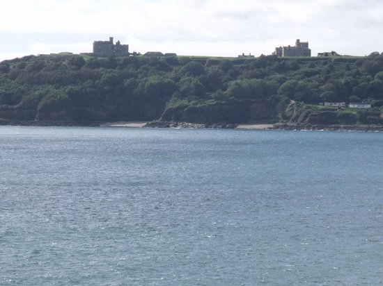 St. Mawes Castle: View of St Mawes Castle.