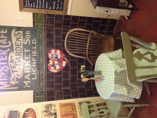 The Brook Tea Rooms: Downstairs table