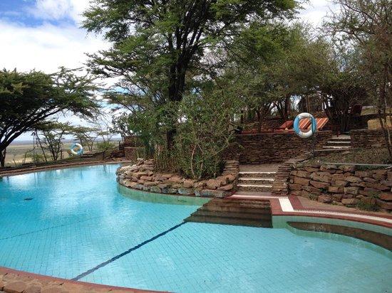 Serengeti Serena Safari Lodge: Pool - cold but refreshing