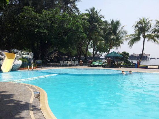 Pulau Ayer Resort & Cottages : Pulau Ayer / Swimming pool / Piscine