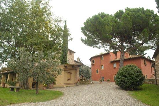 Salvadonica - Borgo Agrituristico del Chianti: View from the main entrance