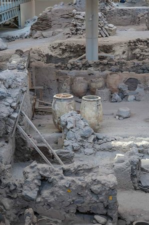 Akrotiri Archaeological Site : State of excavation