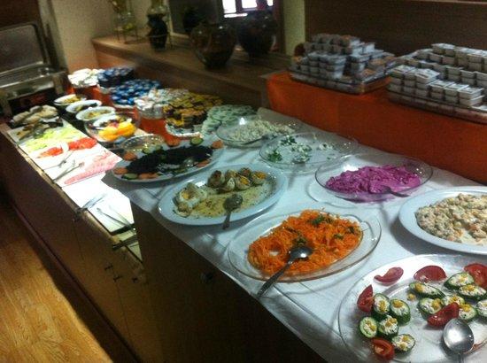 Historical Preferred Hotel Old City: breakfast buffet
