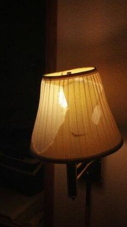 Norwood Inn & Suites - Roseville: Desk lamp