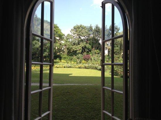 Hotel Yak & Yeti: Lovely garden views.