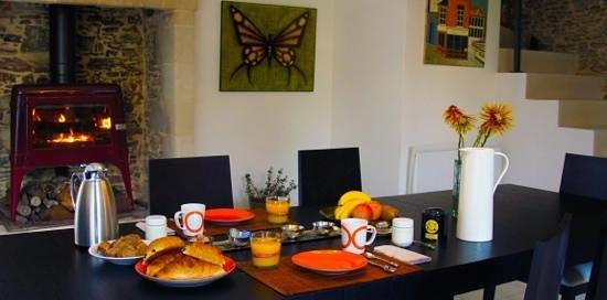 La Demeure de Saint Fiacre: Salle petit dejeuner