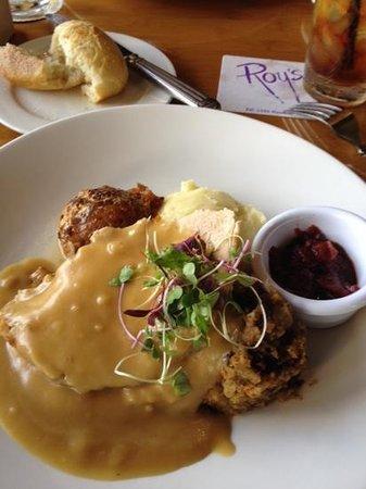 Roy's Restaurant: thanksgiving meal