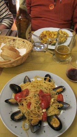 Trattoria Nella : My lunch
