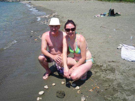 Canada Hotel Cirali Olympos: The beach near Olimpus