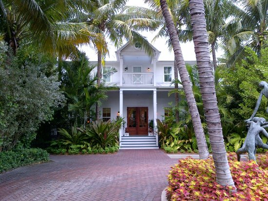 Parrot Key Hotel and Resort: rezeption