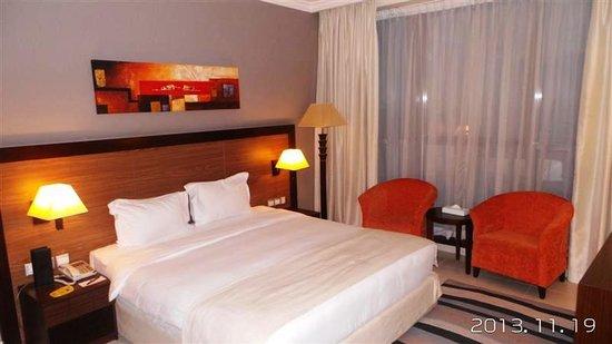 Abidos Hotel Apartment - Al Barsha : Bedroom
