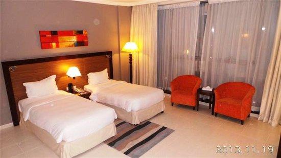 Abidos Hotel Apartment - Al Barsha : Bed Room