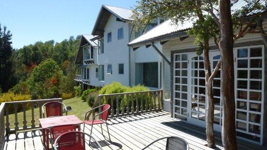 Bambu Lodge: lodge côté terrasse