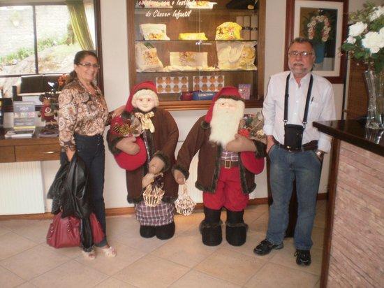 Hotel Recanto da Serra: Na recepção do hotel
