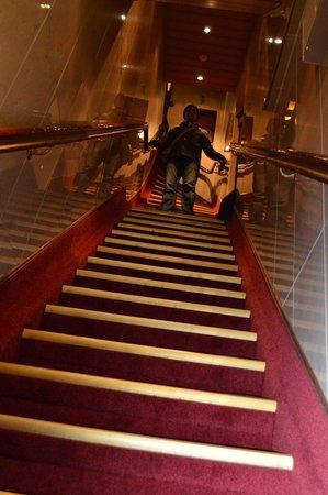 Hotel Nadia : the steep steps