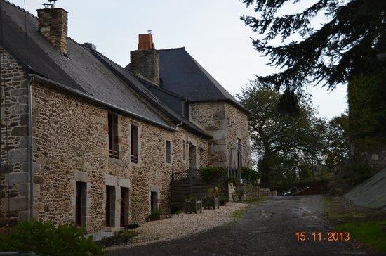 Domaine de la Garaye : La maison d'habitation des propriétaires.