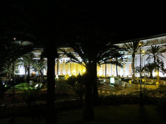 IFA Catarina Hotel: View from Balcony at night