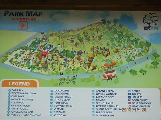 Road Map Of Penang Island