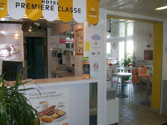 Premiere Classe La Rochelle Sud - Aytré : La réception