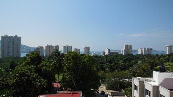 Real Bananas Hotel & Villas: Vista desde mi cuarto. 4to piso.
