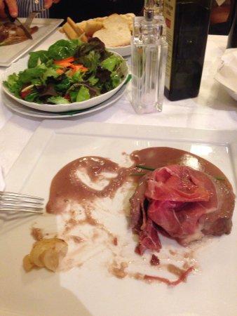 Trattoria Sorelle Picchi: Rose Parma