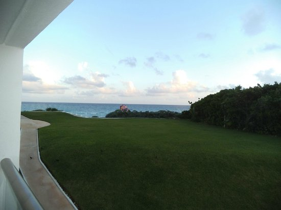 Not the best view (room 124), but we spent most of our time on the beach - not in the room.