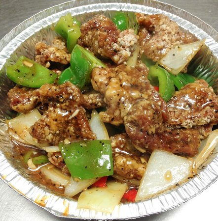 Wee Wok Express : Pepper steak, for the beef lovers!