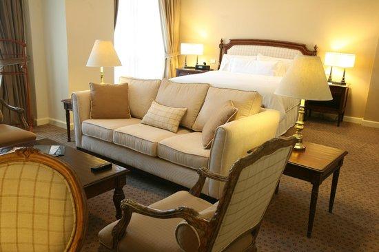 The Westin Camino Real : Sala de Habitación Jr. Suite