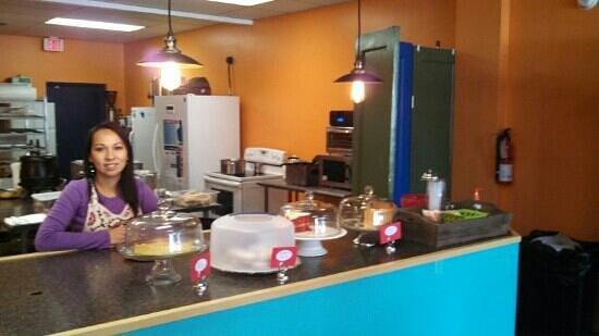 The Turnover Cafe: Gigi Baella Hernandez, owner of Turnover Cafe.