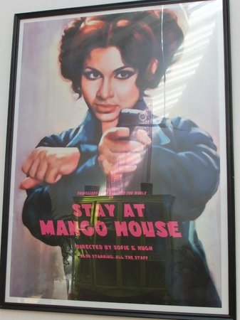 Mango House: bollywood art