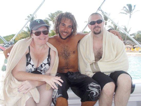 Captain Alan's Three Island Snorkeling Adventure: Hey Gervais!! :)