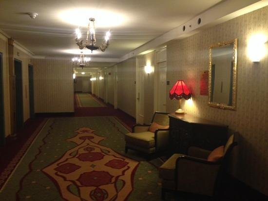 The Roosevelt Hotel: view of hallway