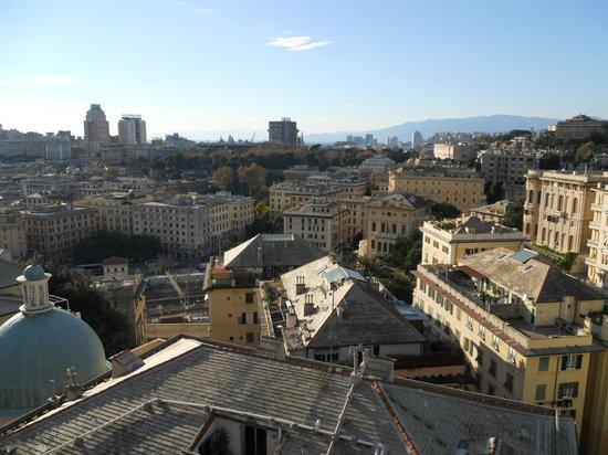 Bin & Ban Bed & Breakfast : View from the balcony