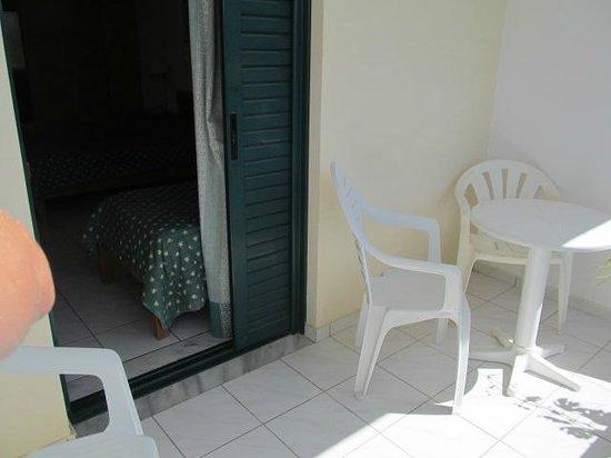 Despo: Balcony from new room