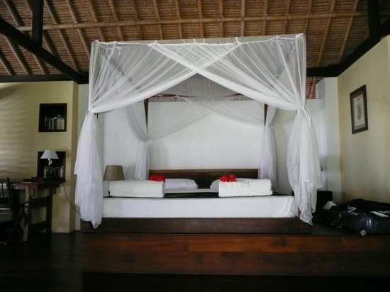 Koyao Bay Pavilions: un lit bien confortable !