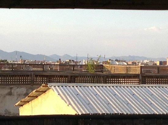 Riad Dar Najat : Roof deck view of Atlas Mnts