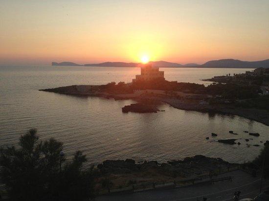 Carlos V Hotel : Por do Sol em Alghero