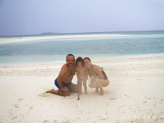 Maldive Due Palme : lingua di sabbia Keyodhoo
