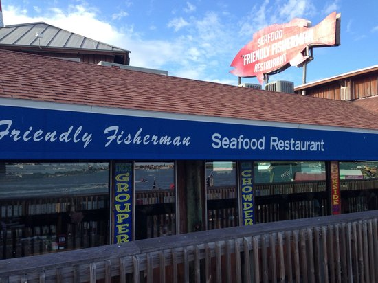 Friendly Fisherman Restaurant : The front