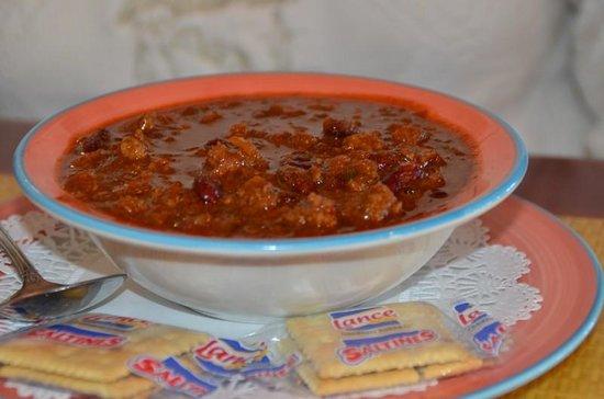 Jimmy's Fish House & Iguana Bar: A bowl of chili