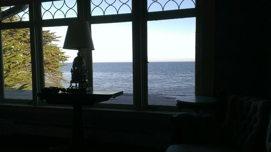 Martine Inn : View from 2nd floor sitting room